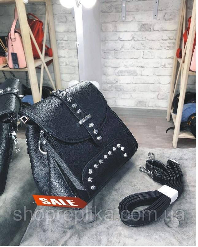 Клатч  копия Valentino , Валентино , сумка в черном цвете