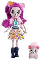 Кукла Enchantimals Мышь Майла и Фондю Mayla Mouse Doll & Fondue, Mattel