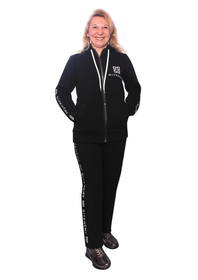 женский модный теплый спортивный костюм