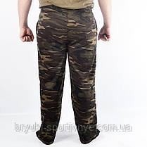 Штаны спортивные трикотажные камуфляжные, фото 3