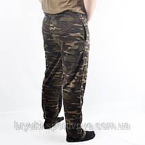 Штаны спортивные трикотажные камуфляжные, фото 2
