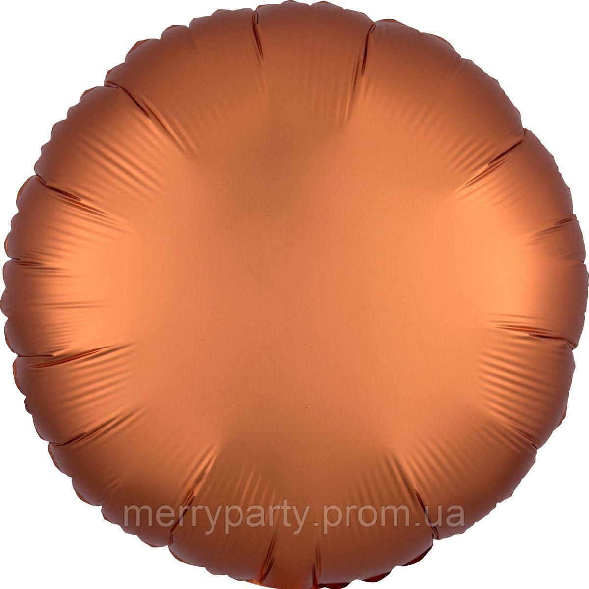 "18"" (45 см) Коло сатин бронза Anagram США куля фольгований"