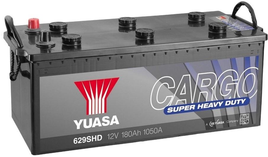 Yuasa 12V 180Ah  Cargo Super Heavy Duty Battery 629SHD