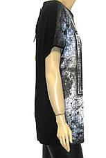 Женская футболка больших размеров с принтом, фото 2