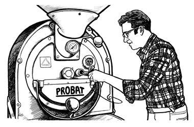 еженедельная обжарка кофе каждый вторник