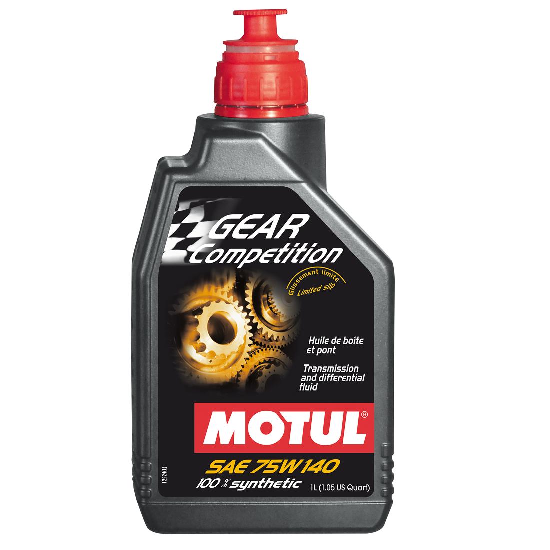 Масло трансмиссионное  Motul Gear Competition 75W-140 1л