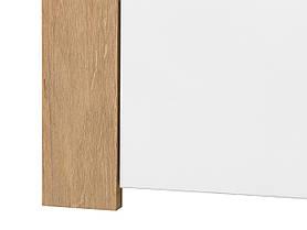 Книжный шкаф Balder  REG1D1S (BRW), фото 3