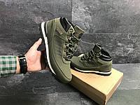 c5e53c7e3990 Мужские зимние ботинки темно зеленые Timberland 6832 (чоловічі зимові теплі  взуття обувь черевики тимберленд)