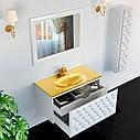 Тумба для ванной комнаты Marsan Virginie 1200 капучино, фото 2