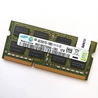 Оперативная память для ноутбука Samsung SODIMM DDR3 4Gb 1600MHz 12800s CL11 (M471B5273DH0-CK0) Б/У, фото 1