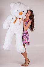 М'яка іграшка ведмедик Рафік 160 см, білий