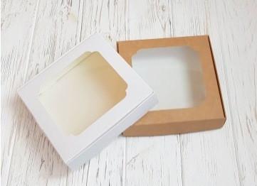 Коробка для пряников с окошком 15*15*3 см Галетте - 06130