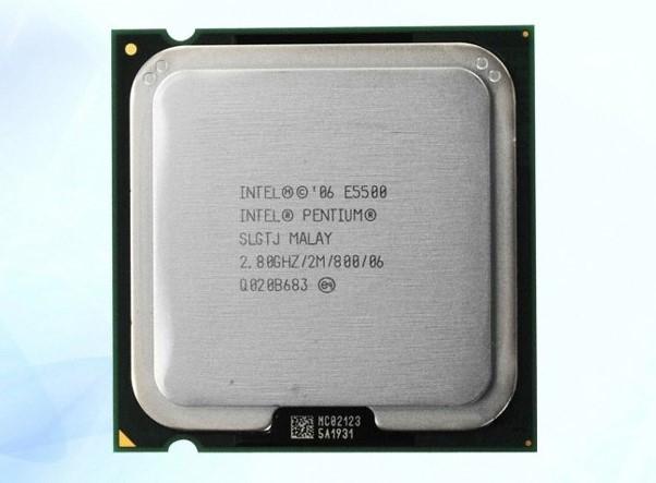 Процессор Intel Pentium E5500 /2(2)/ 2.8GHz