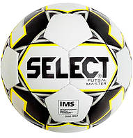 Мяч футзальный Select Futsal Master IMS NEW Белый/Желтый/Черный