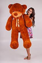 М'яка іграшка ведмедик Рафік 160 см, коричневий