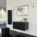 Тумба для ванной комнаты Marsan Virginie 2 1200 в цвете камни Swarovski, фото 3