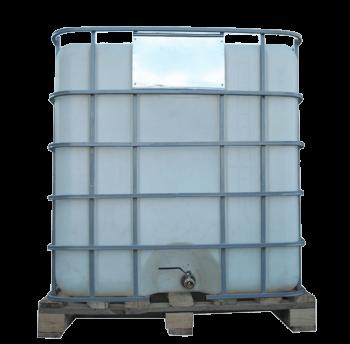 Ємність квадратна в решітці з металевим краном, фото 2