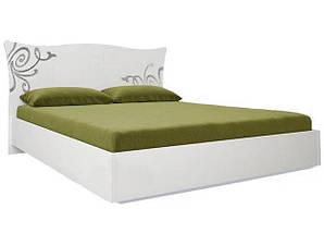 Кровать Богема 180*200 c каркасoм и подъемным механизмом глянец белый ТМ Миро Марк, фото 3