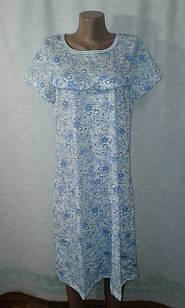 Ночные рубашки женские 100% хлопок,  р.50-60. от 6шт по  72 грн