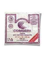 "Пакет-майка ""Comserv"" (21×36) 1000 шт"