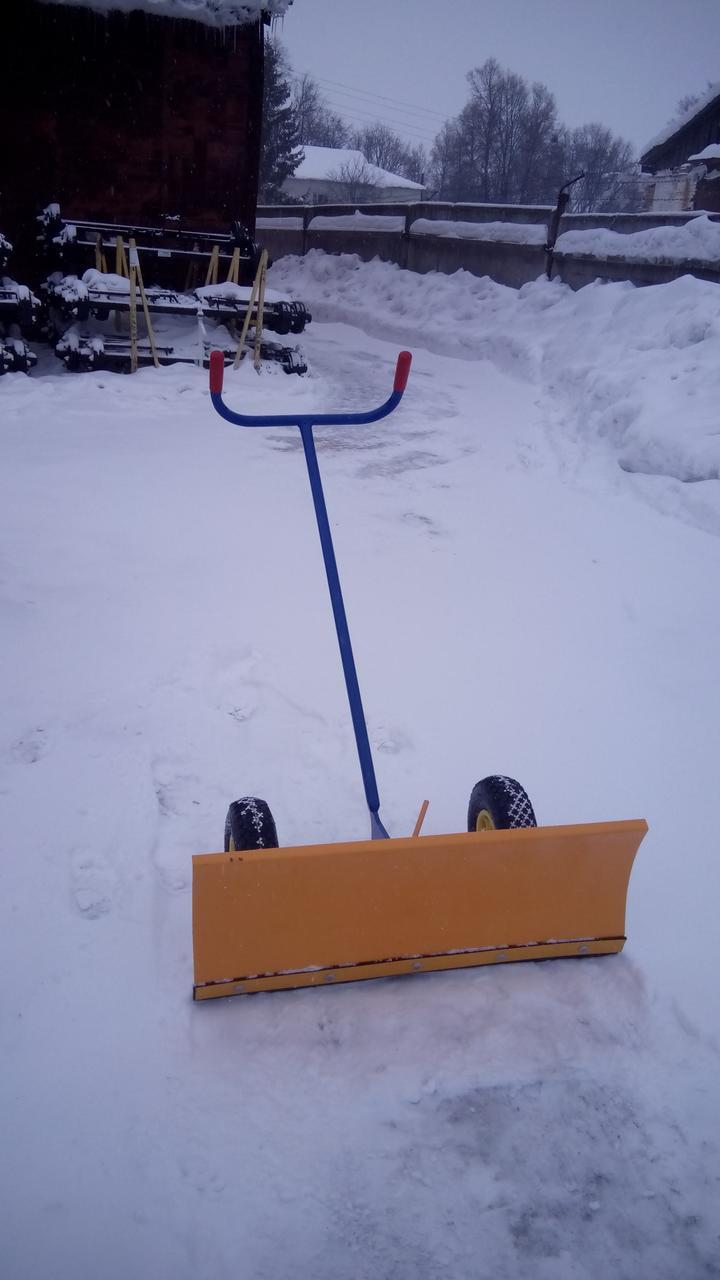 Отвал для снега ручной