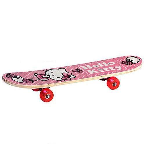 Скейт для малышей 0052 Hello Kitty размер деки 60х15см
