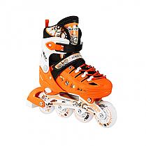 Ролики для детей 31-34, 35-38 р. Scale Sport - Оранжевые, фото 3