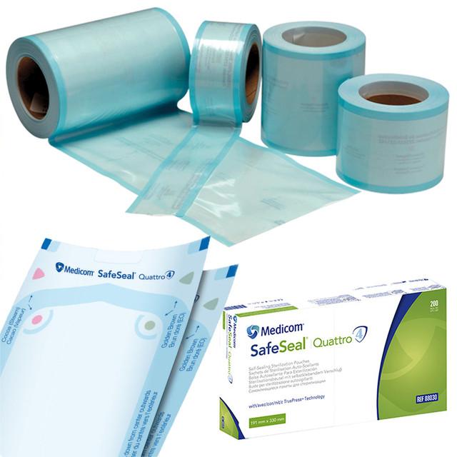 Пакети та рулони для стерилізації