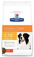 Hills Diet c/d лечебный корм для собак для профилактики МКБ