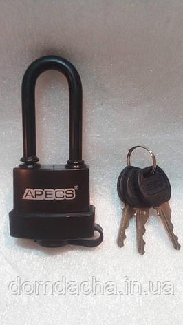 Замок навесной, висячий APECS PDR-50-45-L, фото 2