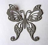 Вирубка з картону. Метелик, 55х58 мм, фото 2