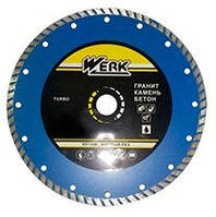Диск алмазный отрезной Werk Turbo 180x7.0