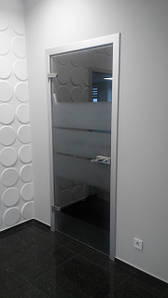 Міжкімнатні скляні двері