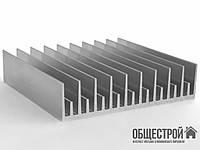 Алюминиевый профиль радиаторный 120х36