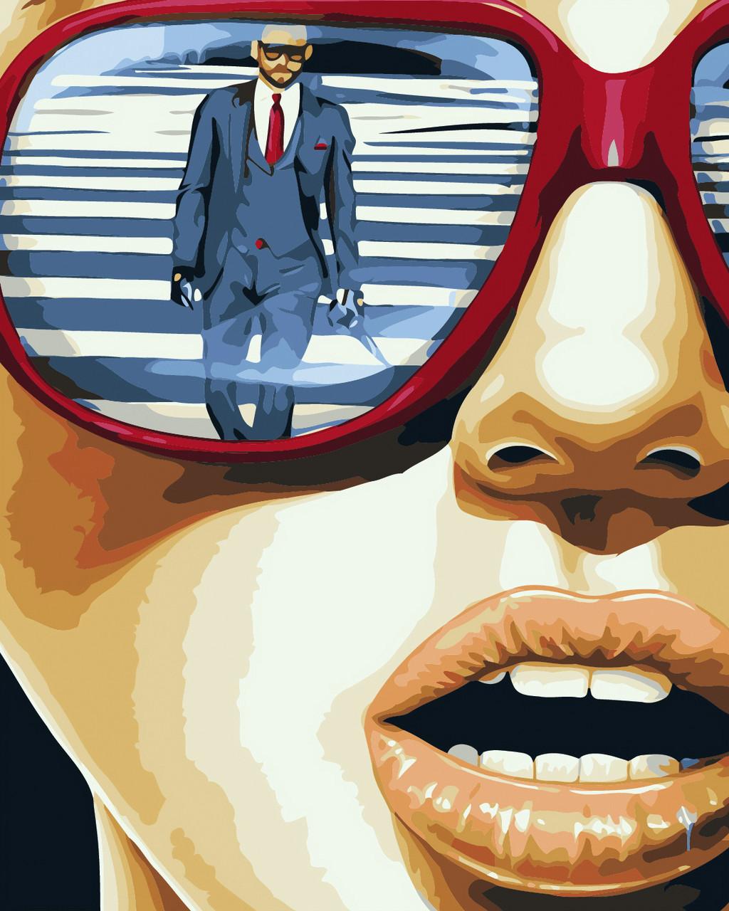 Художественный творческий набор, картина по номерам Глазами женщины, 40x50 см, «Art Story» (AS0428)