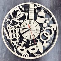 Настенные часы Sex-Shop