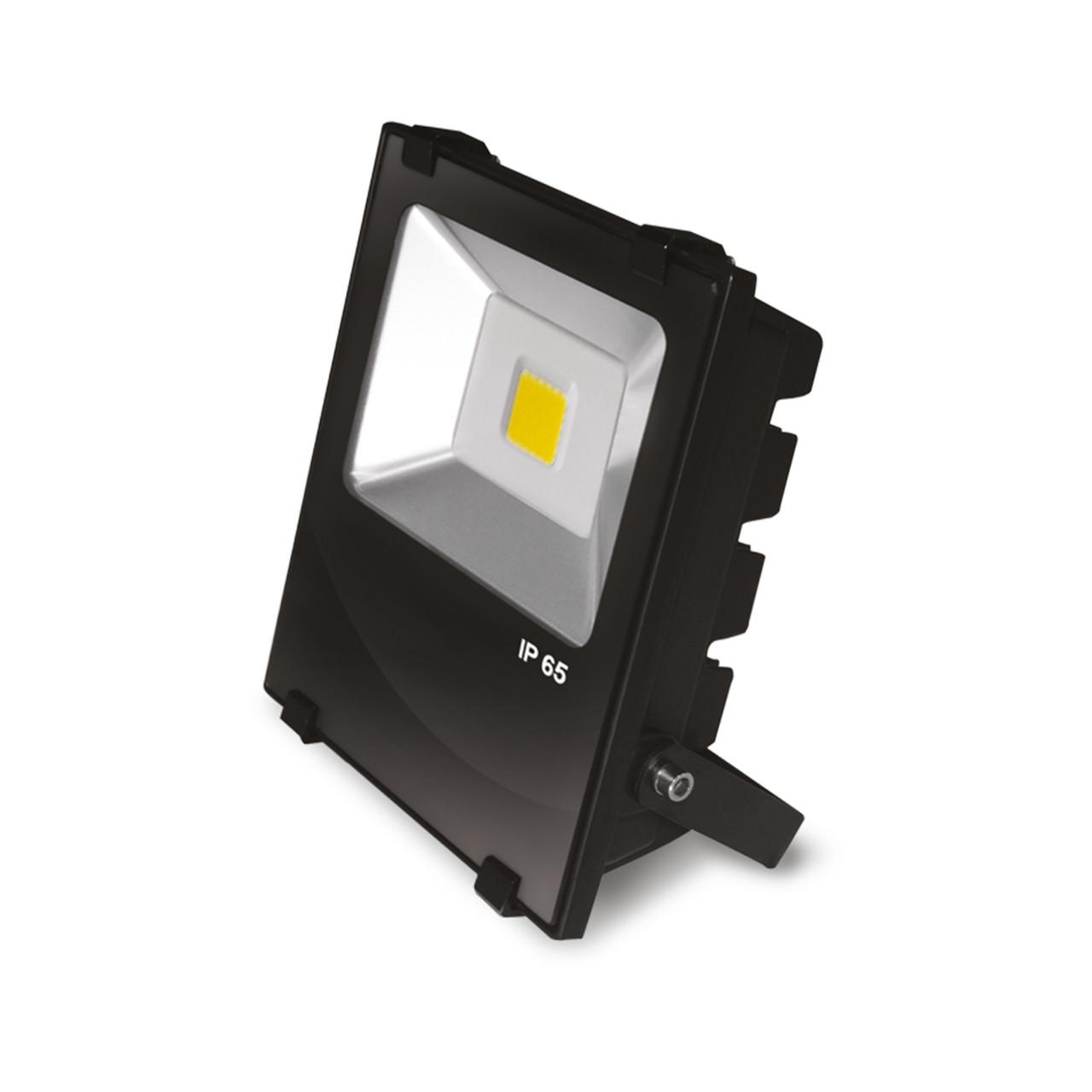 EUROELECTRIC LED Прожектор COB чёрний 30W 6500K classic