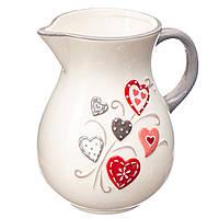 """Кувшин, молочник """"Love"""" (860 мл.)"""