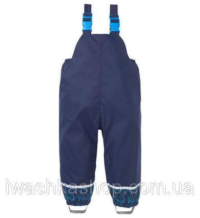 Полукомбинезон, прорезиненные штаны - дождевик на мальчика 1 - 1,5 года, р. 80 - 86, X -Mail / KIK