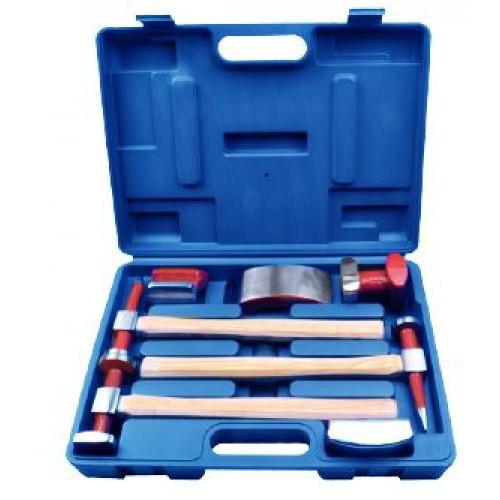 Набор инструментов рихтовочных для кузовных работ 7пр., в кейсе