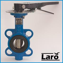 Затворы Баттерфляй с нержавеющим диском Laro Fly art. 301