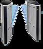 Турникет SPEEDBLADE-1 (правая + левая стойки), крашеный, цвет RAL 9005/на выбор, столешницы - черное стекло