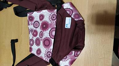 Эргономичный рюкзак Світ навколо (хлопок/ бордовый), фото 2