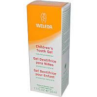Детский зубной гель, 1.7 жидких унций (50 мл) Weleda