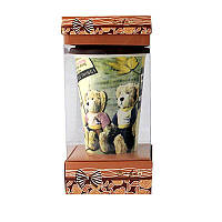Кружка с силиконовой крышкой в подарочной упаковке Collection
