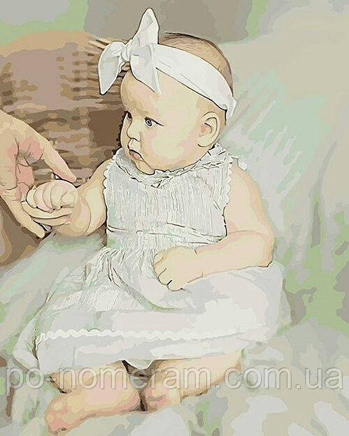 портрет ребенка по номерам - нарисуй своими руками