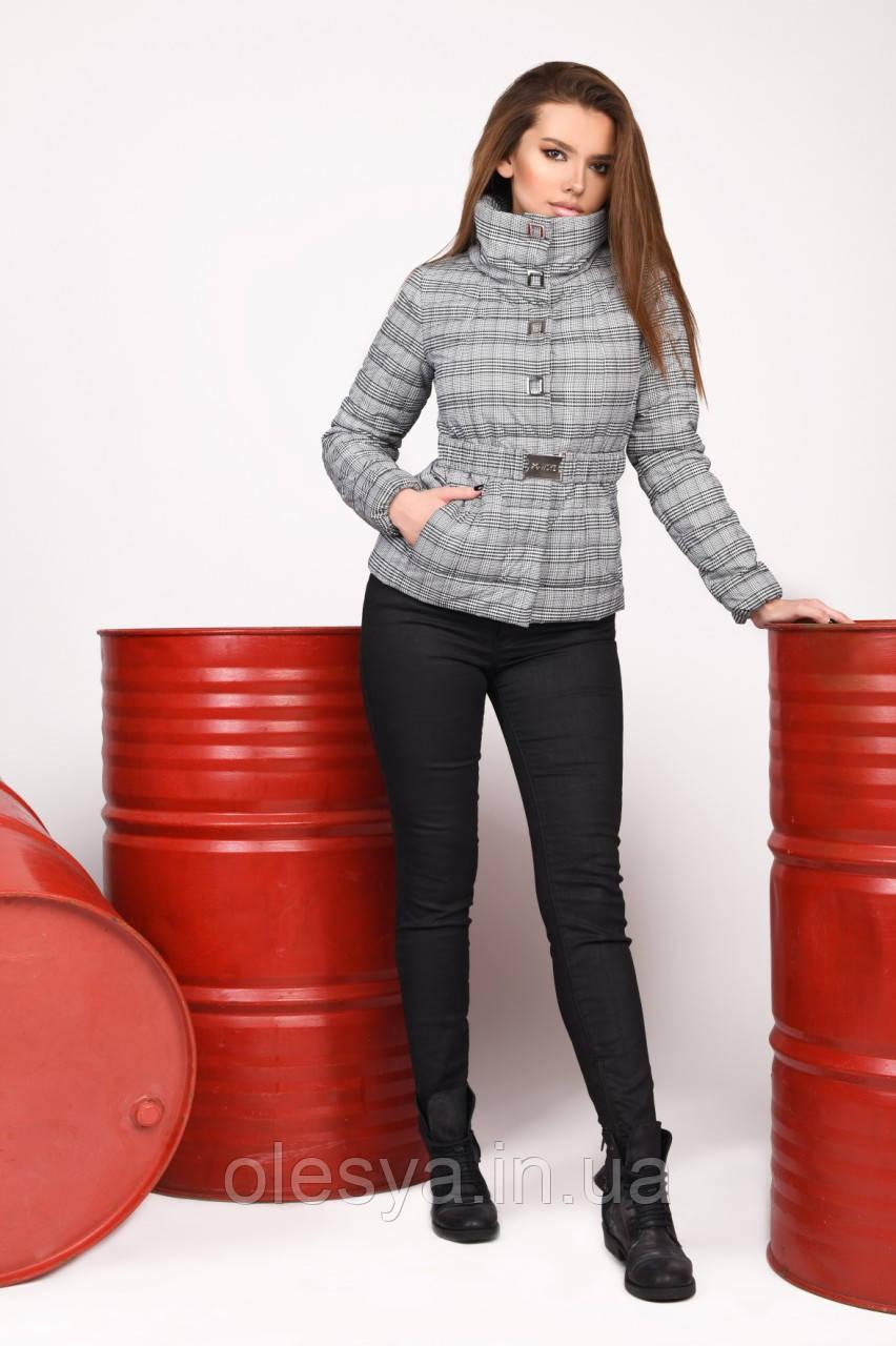 Куртка женская демисезонная бренда X-Woyz LS-8828-5 Размеры 42- 48