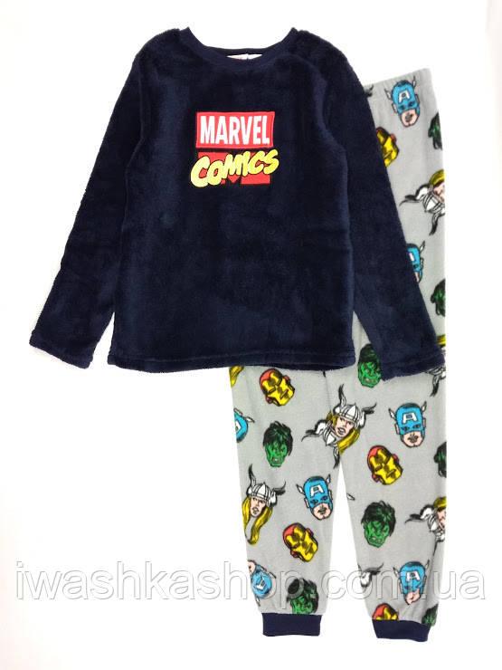 9f190c316ee2 Теплая флисовая пижама велсофт Мстители на мальчика 7 - 8 лет, р. 128,  Marvel / Primark