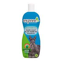 "Espree (Эспри) ""Dark Coat"" Aloe Herb Oil Shampoo для темных, черных, серых окрасов, 355мл"
