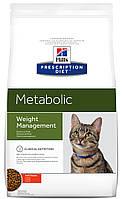 Лечебный корм для кошек Hills Prescription Diet Feline Metabolic